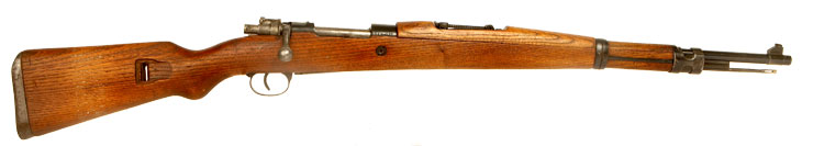 Deactivated WWII era Yugoslav M24/47 Rifle - Bring Back