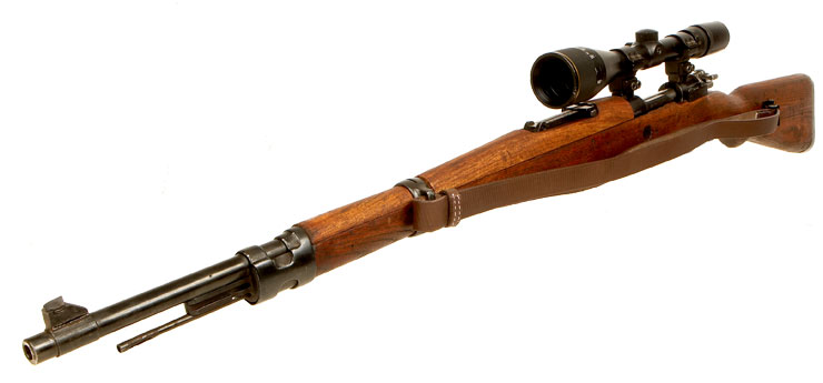 Deactivated Yugoslavian M48 Mauser (K98) Sniper rifle