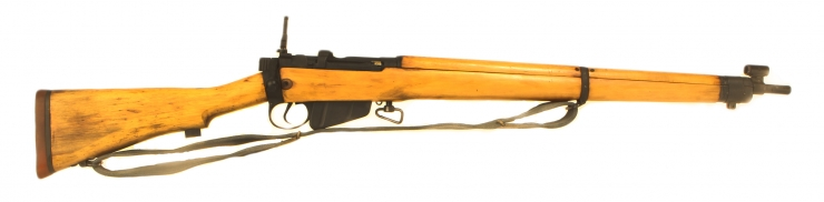 Just Arrived, Deactivated WWII Lee Enfield No4 MKI rifle