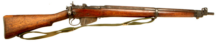 Deactivated WWII D-Day Era Lee Enfield No4 MKI* Rifle