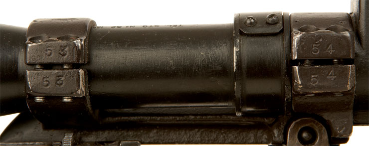 Deactivated WWII British Lee Enfield No4T Sniper Rifle