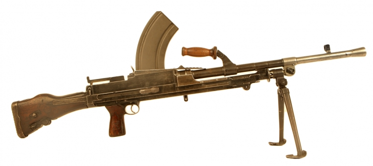 Deactivated WWII Enfield Bren MK1