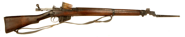 Deactivated WWII Lend Lead Lee Enfield No4 MKI* Rifle