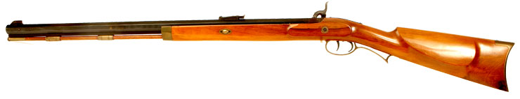 Lyman 50 cal muzzle loading percussion rifle.