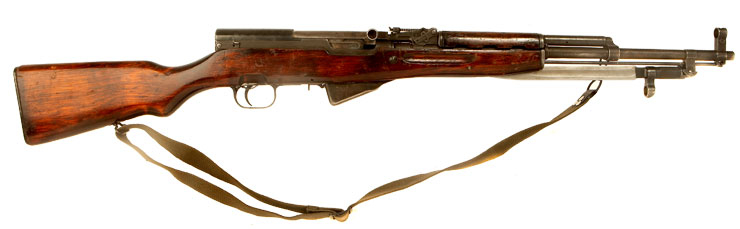 Deactivated Cold War Russian SKS Rifle