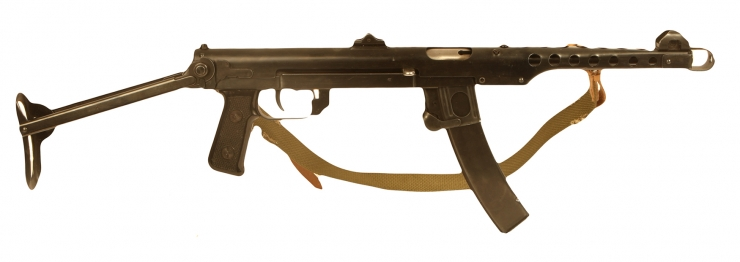 Deactivated Cold War PPS43 SMG