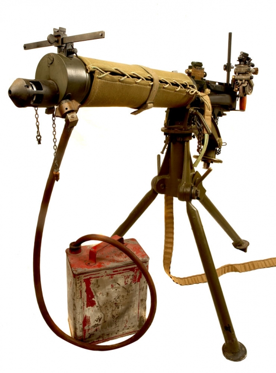 Deactivated WWII Vickers MKI Machine Gun