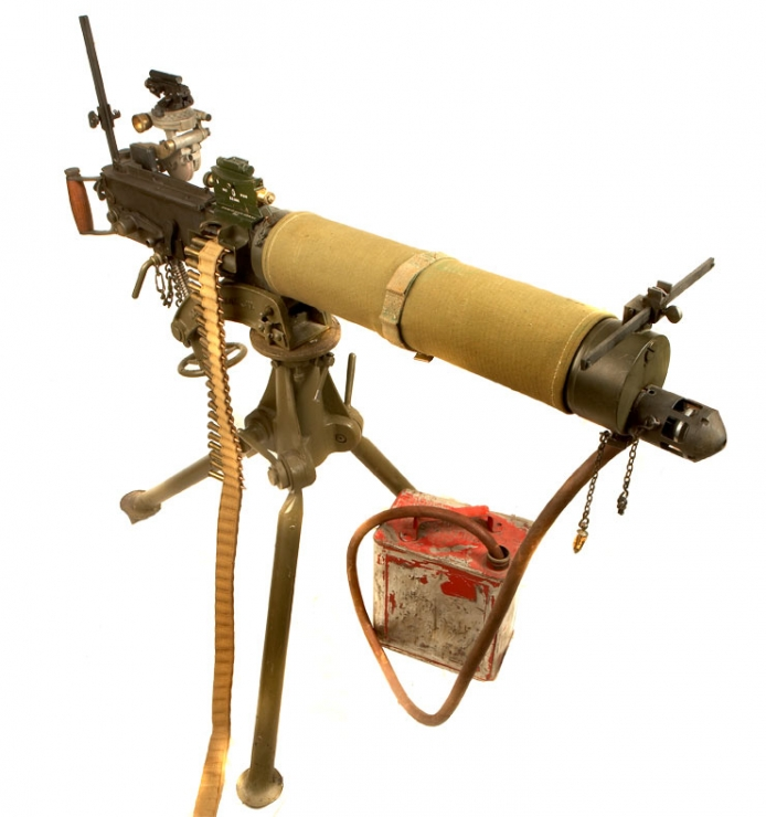 Deactivated Wwii Vickers Mki Machine Gun Allied