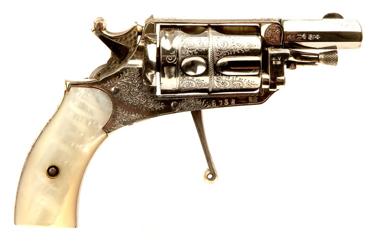 An absolutely stunning condition Belgium made Velo-Dog revolver