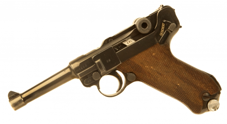 Just Arrived, Deactivated 1937 Dated PO8 Luger