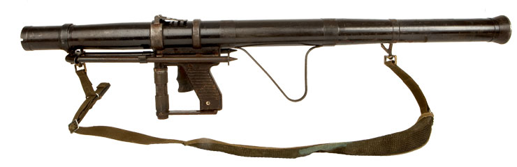 Deactivated Old Spec Yugoslavian RB 57 (RPG-2) Rocket Launcher