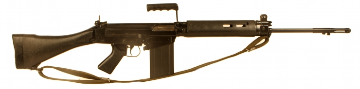 Deactivated British made SLR L1A1 rifle