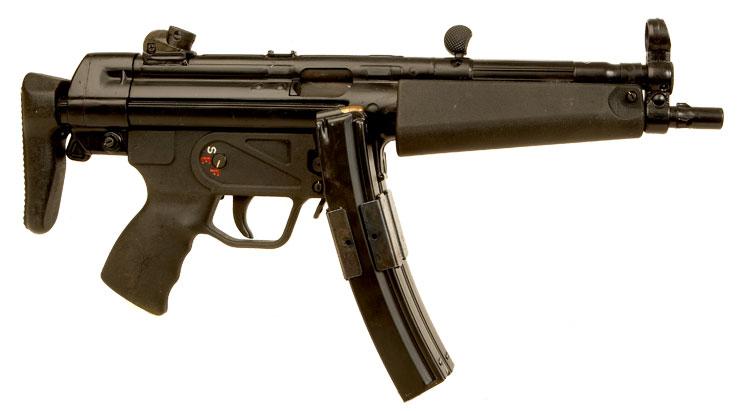 Deactivated Heckler & Koch MP5 9mm Submachine Gun ...
