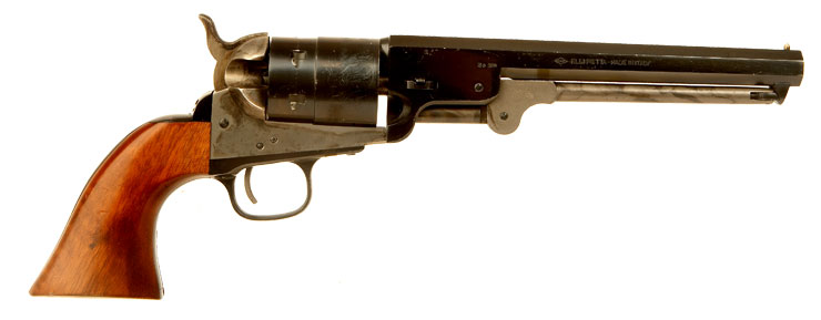 Deactivated Italain made Colt Navy model 1851 Revolver