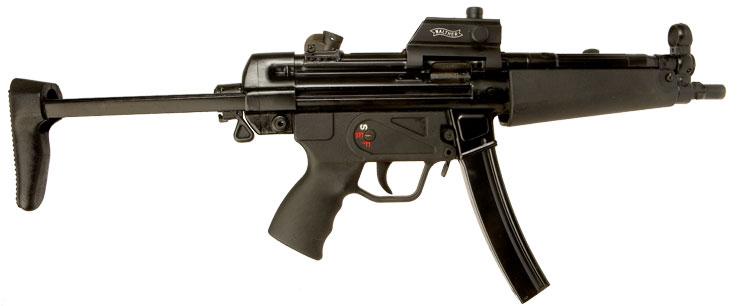 Deactivated Heckler & Koch MP5 9mm Submachine Gun - Modern ...
