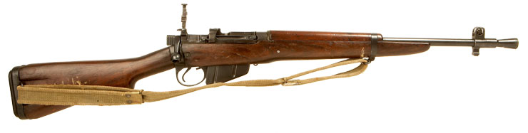 WWII Lee Enfield No5 Jungle Carbine with matching bolt