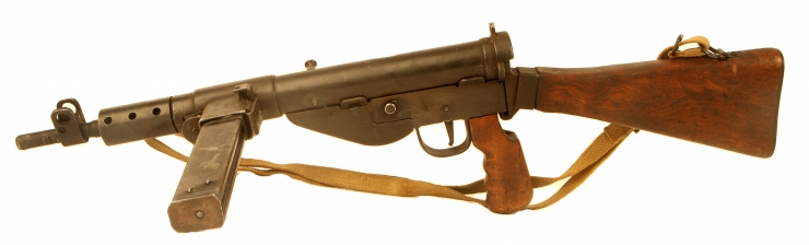 Deactivated WWII British Sten MK5