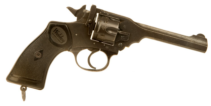 Just Arrived, Deactivated Webley & Scott MKVI .38 Revolver