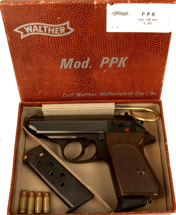 Deactivated Mint Condition Walther Ppk With Accessories