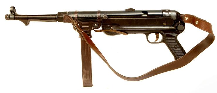 MGC MP40 Replica - Modern Deactivated Guns - Deactivated Guns