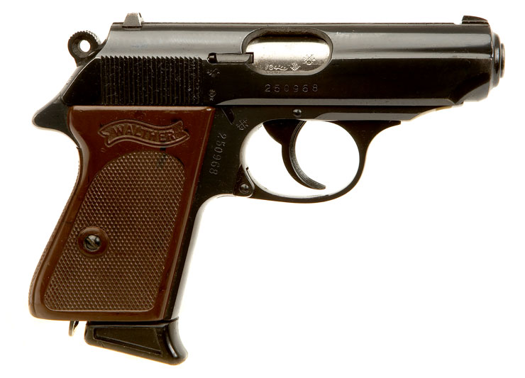 Walther Ppk http...P99 Airsoft Pistol With Silencer