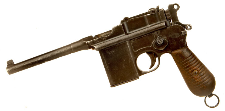 Just Arrived, Deactivated WWII Era Mauser C96 Schnellfeuer Pistol