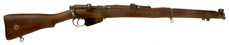 Deactivated WWI British SMLE MKIII rifle