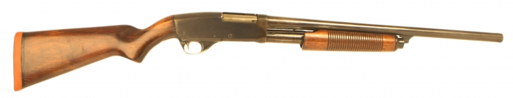 Deactivated US manufactured Stevens 77F Pump Action Shotgun