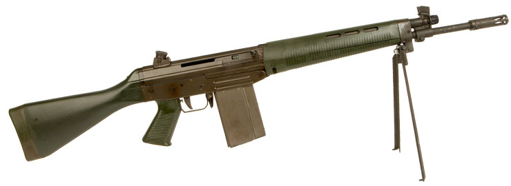 Coming in Deactivated SIG SG-542 assault rifle