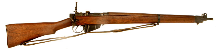 Deactivated WWII Lend Lease Lee Enfield No4 MKI* Rifle