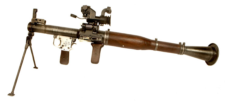 Due in Deactivated Ex- Israeli RPG-7 with Scope