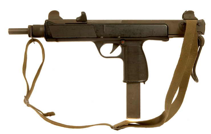 Deactivated Steyr MPi 81 SMG