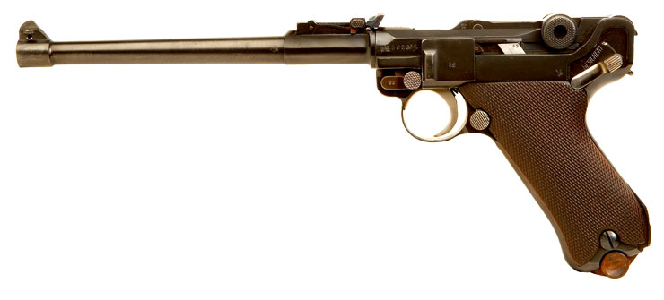 Deactivated Artillery Luger dated 1914