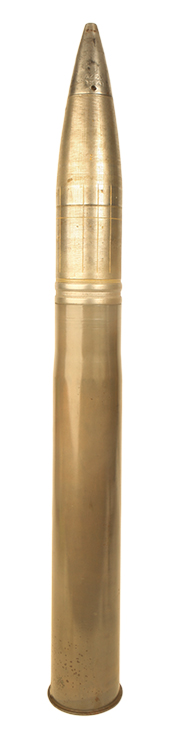 Inert WWII German 88mm Round