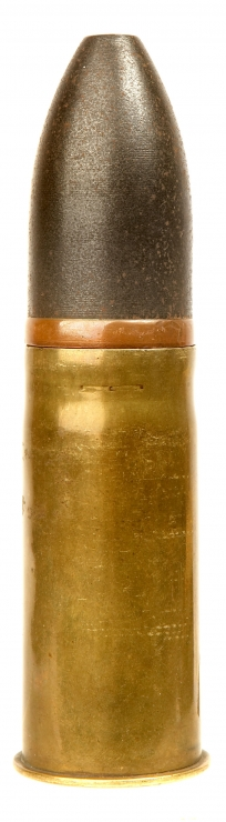 An 1898 Dated German Navy 3.7cm cannon shell