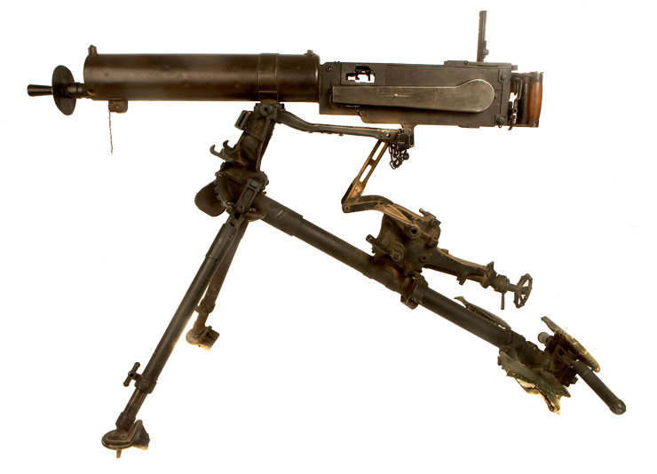 WWI German MG08 - Chinese Type 24 with provenance