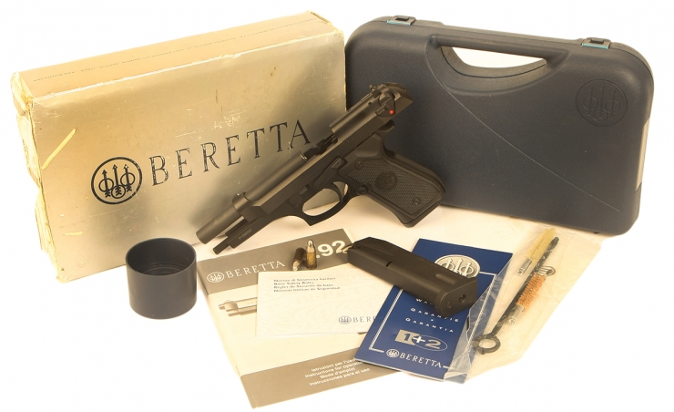 Deactivated Mint Condition Beretta 92fs