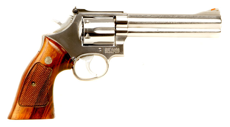 Deactivated Old Spec Smith & Wesson .357 Magnum Revolver ...
