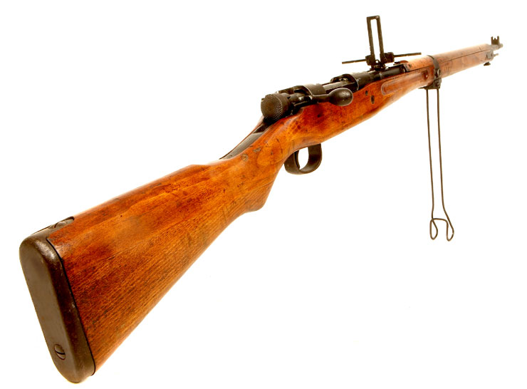 Deactivated WWII Japanese Arisaka Type 99 Short Rifle - Axis