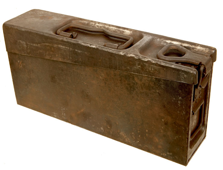 Buy rare wwii german patronenkasten 36 vehicle ammunition box