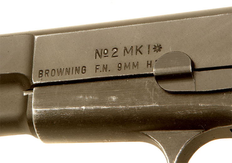 Deactivated Wwii Inglis Browning Fn Hi Power No2 Mki 9mm