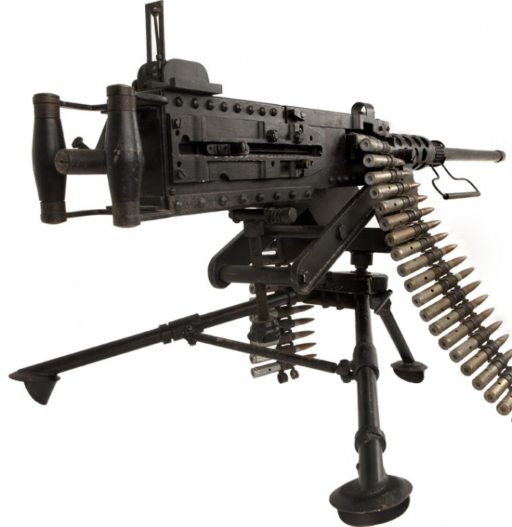 browning 50 cal machine gun