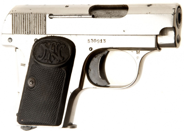 Deactivated Browning 1906 Pocket Pistol - Allied Deactivated Guns
