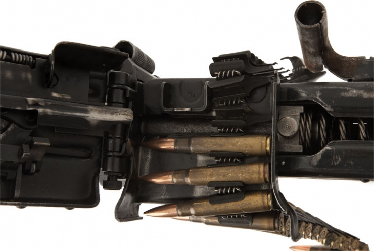 Deactivated Yugoslavian MG42/M53 with Belt and Rounds