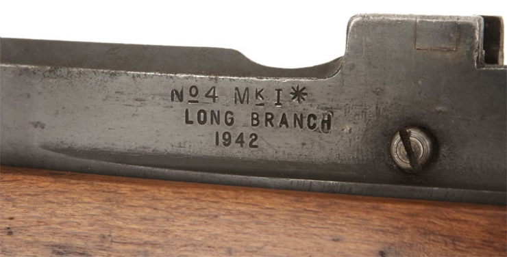 Deactivated Wwii No4 Long Branch Rifle 1942 Dated Allied