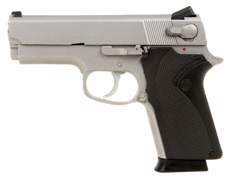 Deactivated Smith and Wesson Model 4516-1 Pistol .45