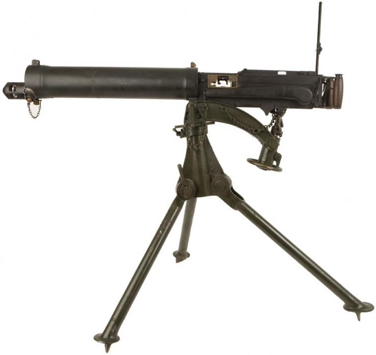 vickers machine gun ww1