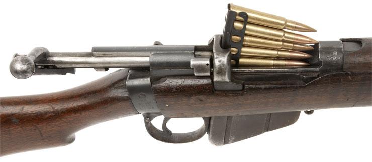 deactivated wwi bsa short magazine lee enfield 303 rifle
