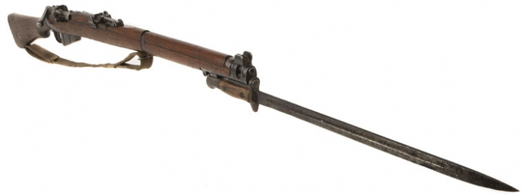 Wwi Bsa Smle And Bayonet Allied Deactivated Guns