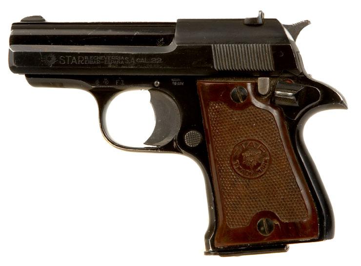 Deactivated star lancer 22 pistol modern deactivated guns